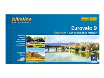 Image of Bikeline Bike Tour Books - Eurovelo 9 - Von Brünn nach Maribor