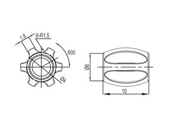 Bild von Jagwire Mini Tube Tops Rahmenschützer (6 Stück)