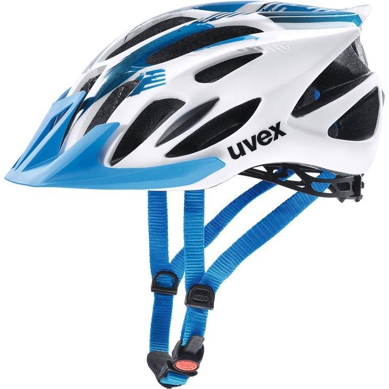 Uvex flash Helm - white-blue