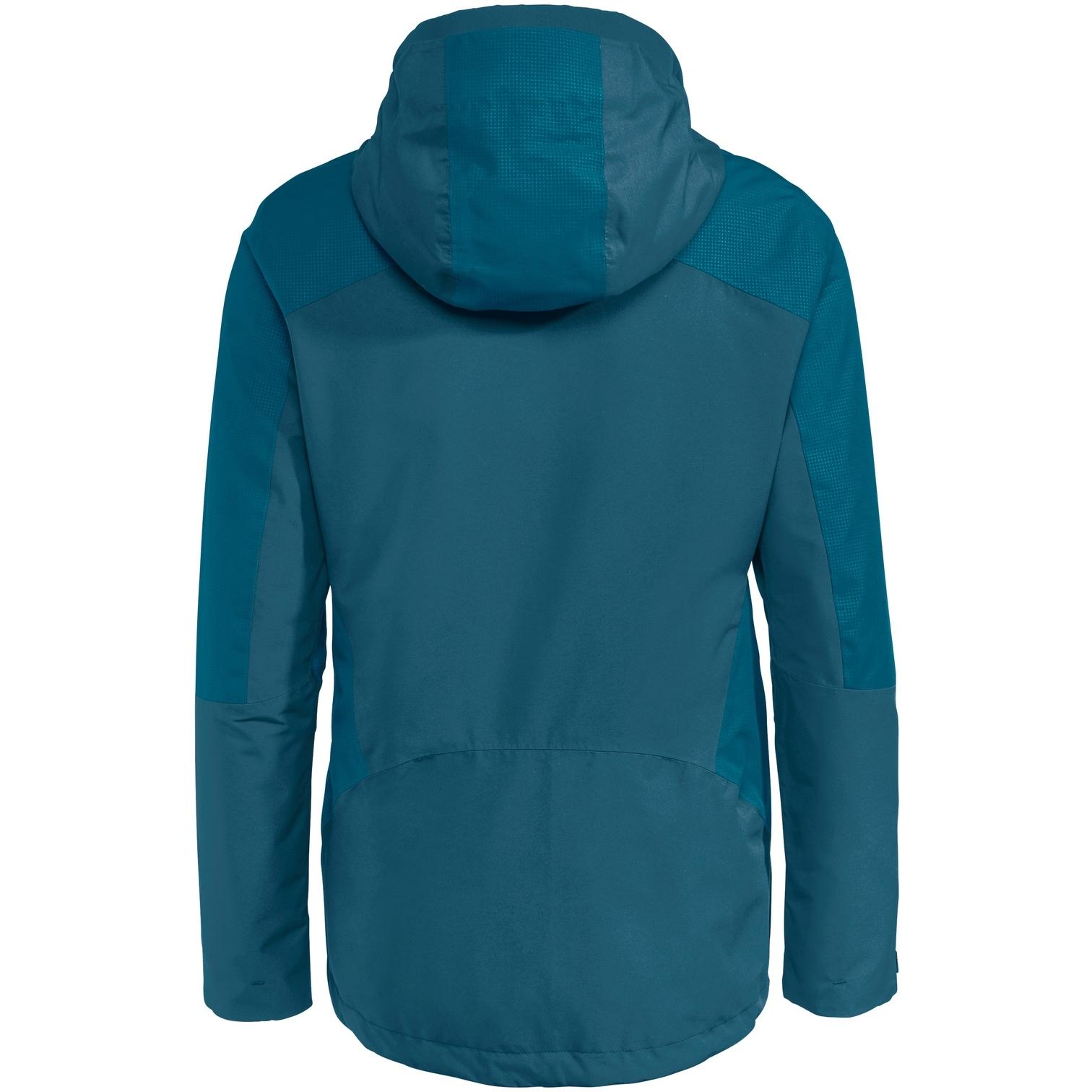 Image of Vaude Women's Elope 3in1 Jacket - blue sapphire