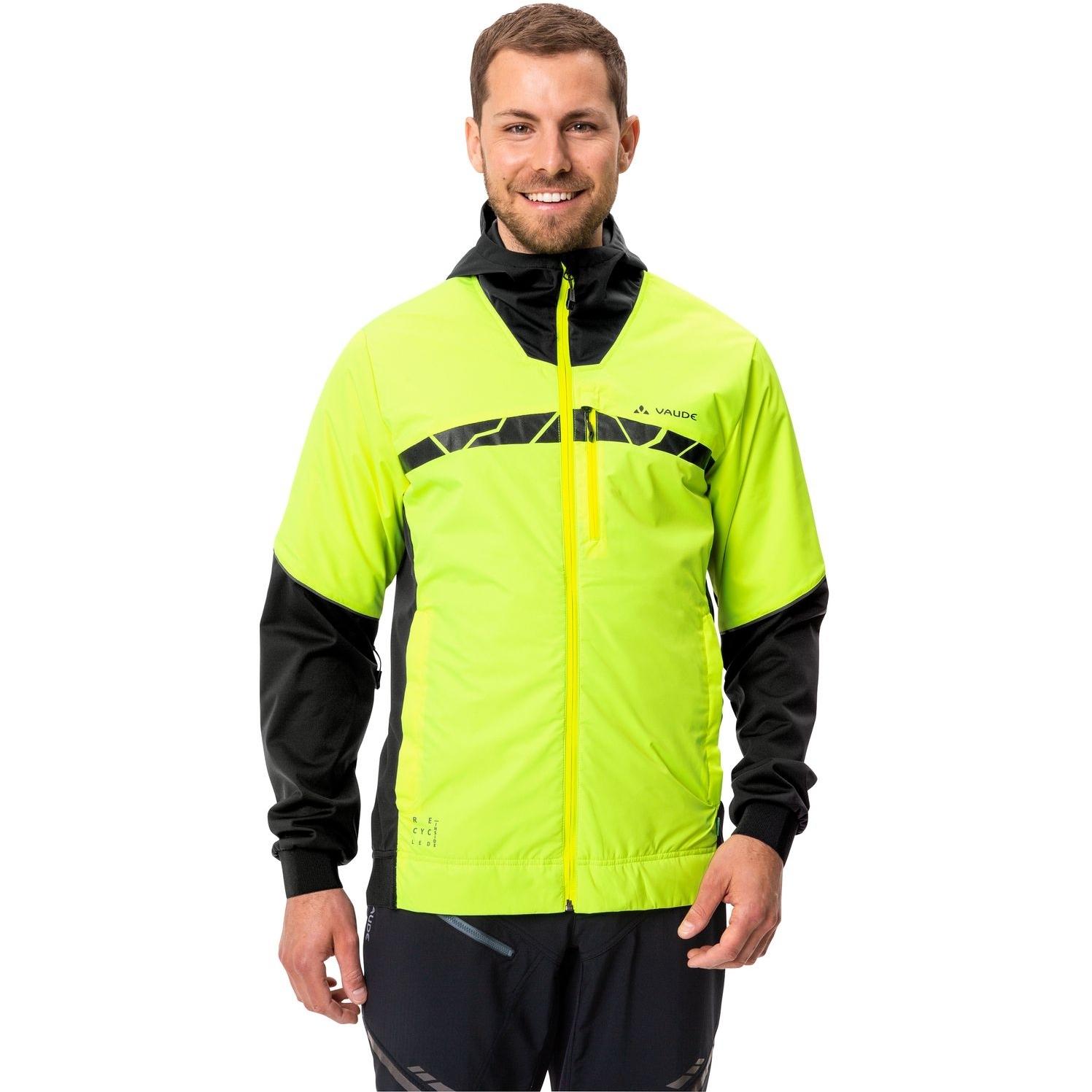 Image of Vaude Men's All Year Moab Jacket II - neon yellow
