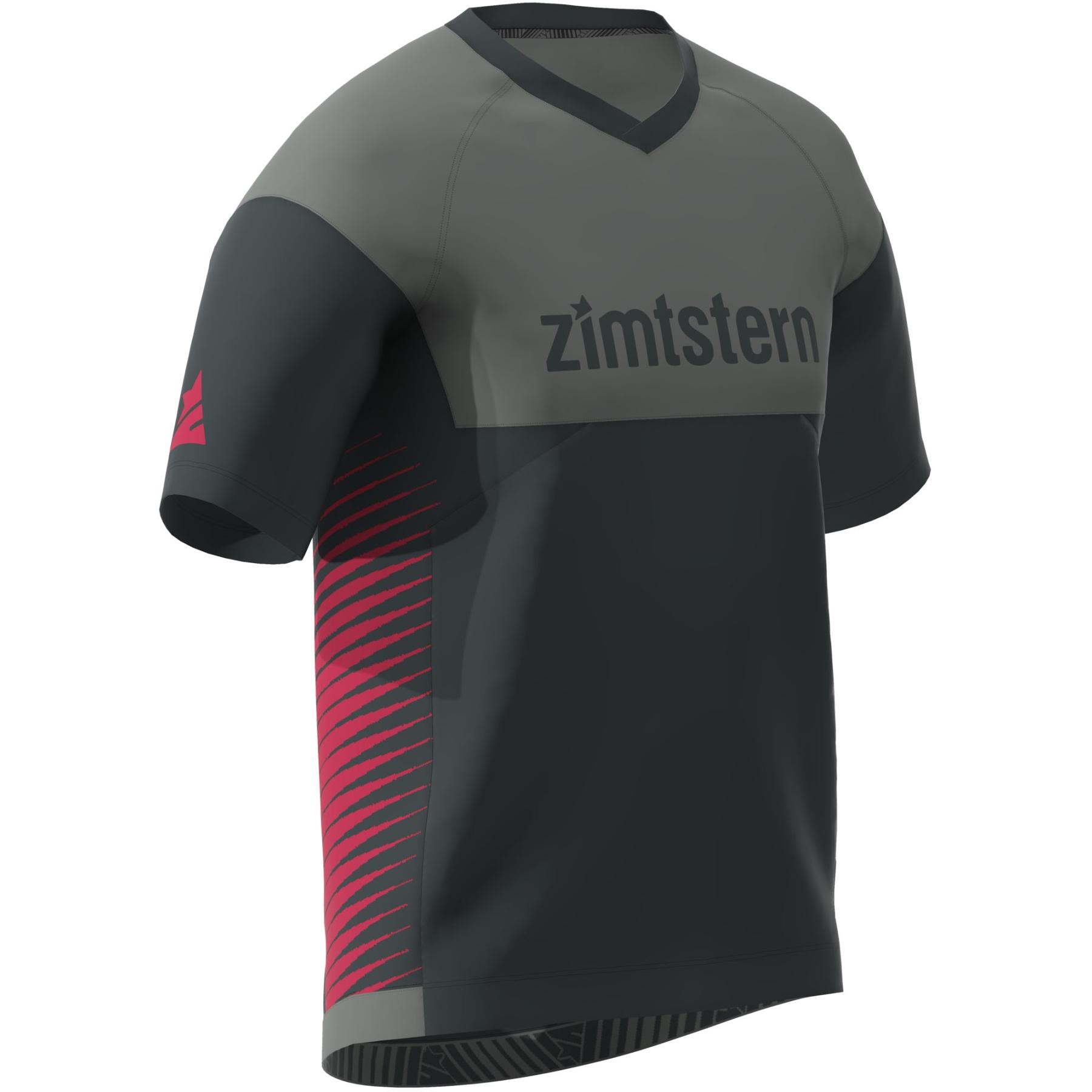 Bild von Zimtstern Bulletz Kurzarm-Shirt - pirate black/gun metal/jester red