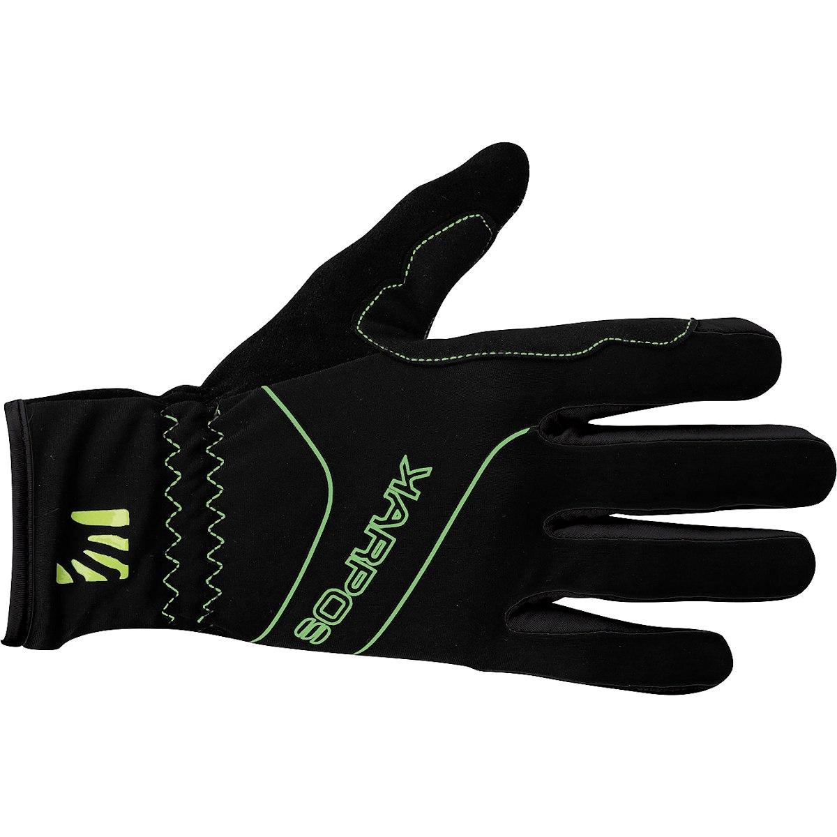 Karpos Alagna Full-Finger Glove - Black/Green Fluo