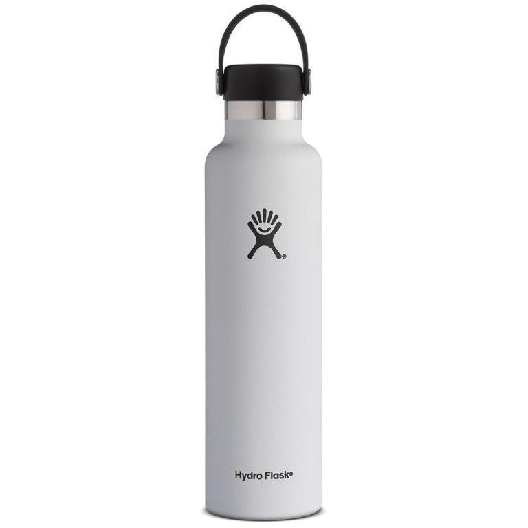 Produktbild von Hydro Flask 24 oz Standard Mouth Thermoflasche 710ml - White
