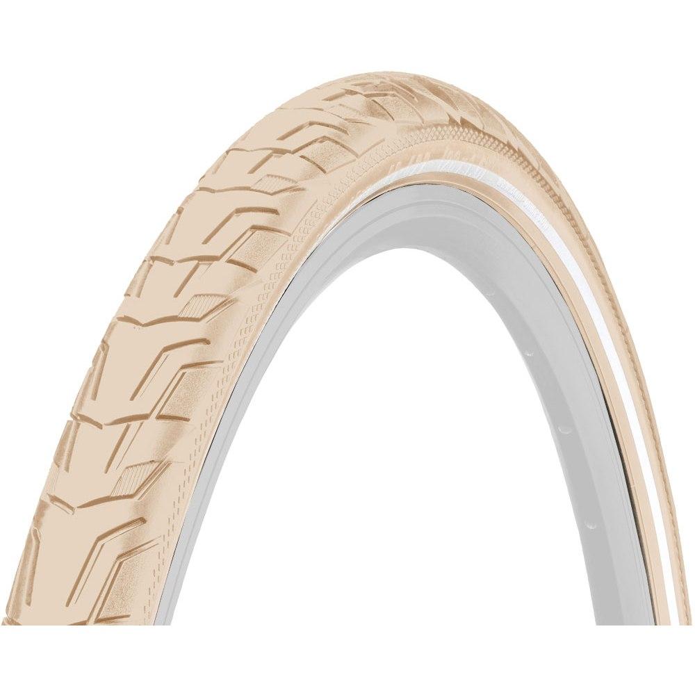 Continental Ride City Wire Bead Tire - 28 x 1 3/8 Inches - creme Reflex