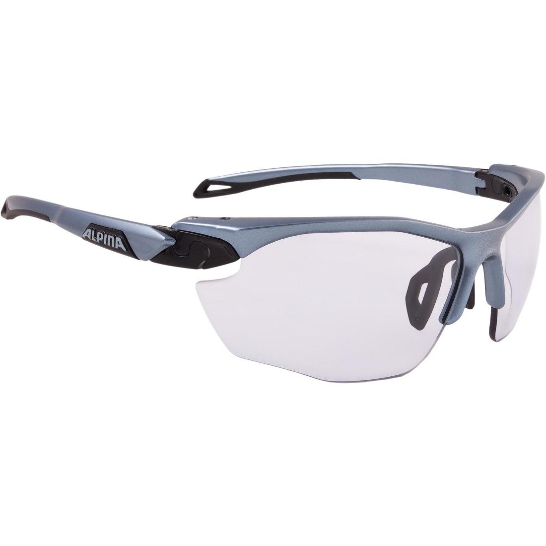 Alpina Twist Five HR VL+ tin-black/Varioflex black - Glasses