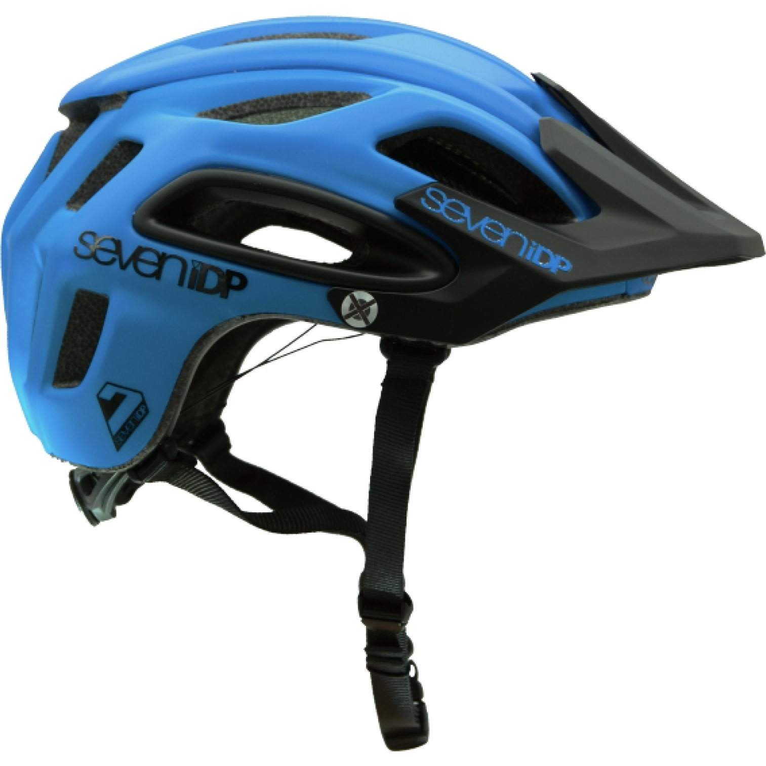 7 Protection 7iDP M2 BOA Casco - cobaltblue-black