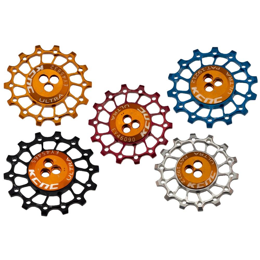 KCNC Asymmetrical Narrow / Wide Aluminium Jockey Wheels