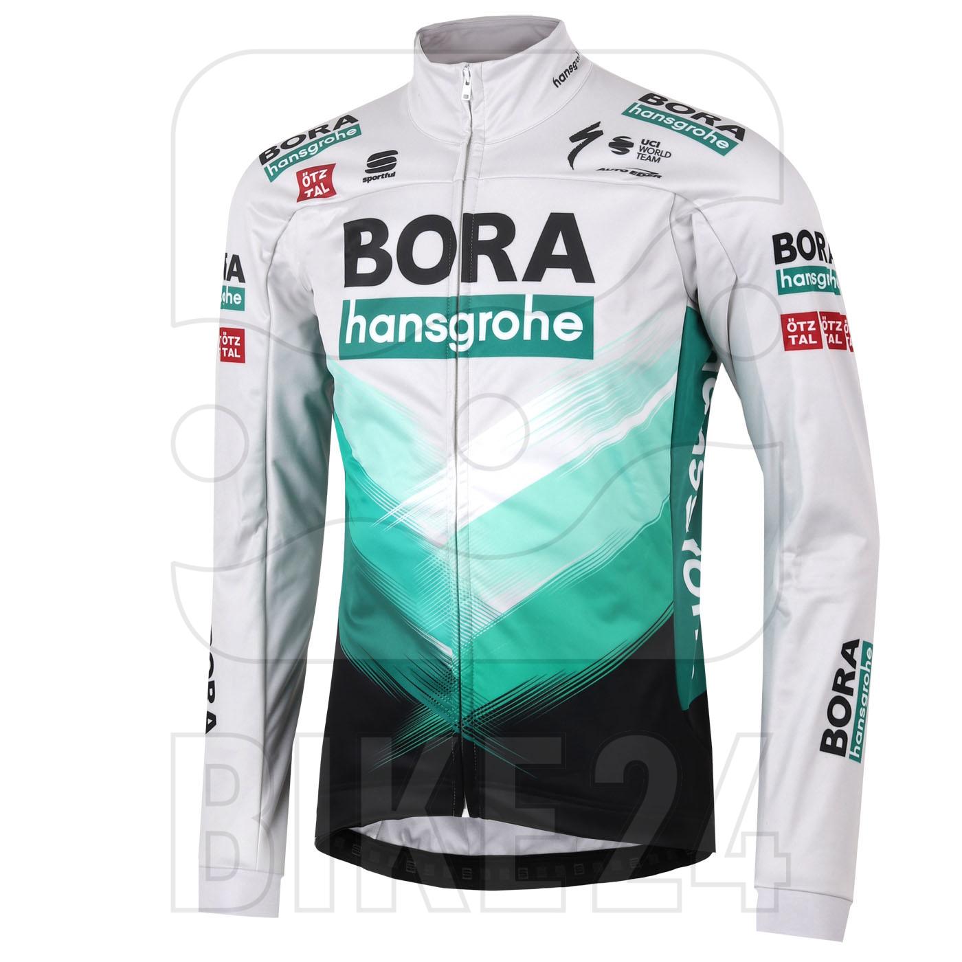 Sportful BORA hansgrohe Partial Protection Jacket - 057 Green-Grey