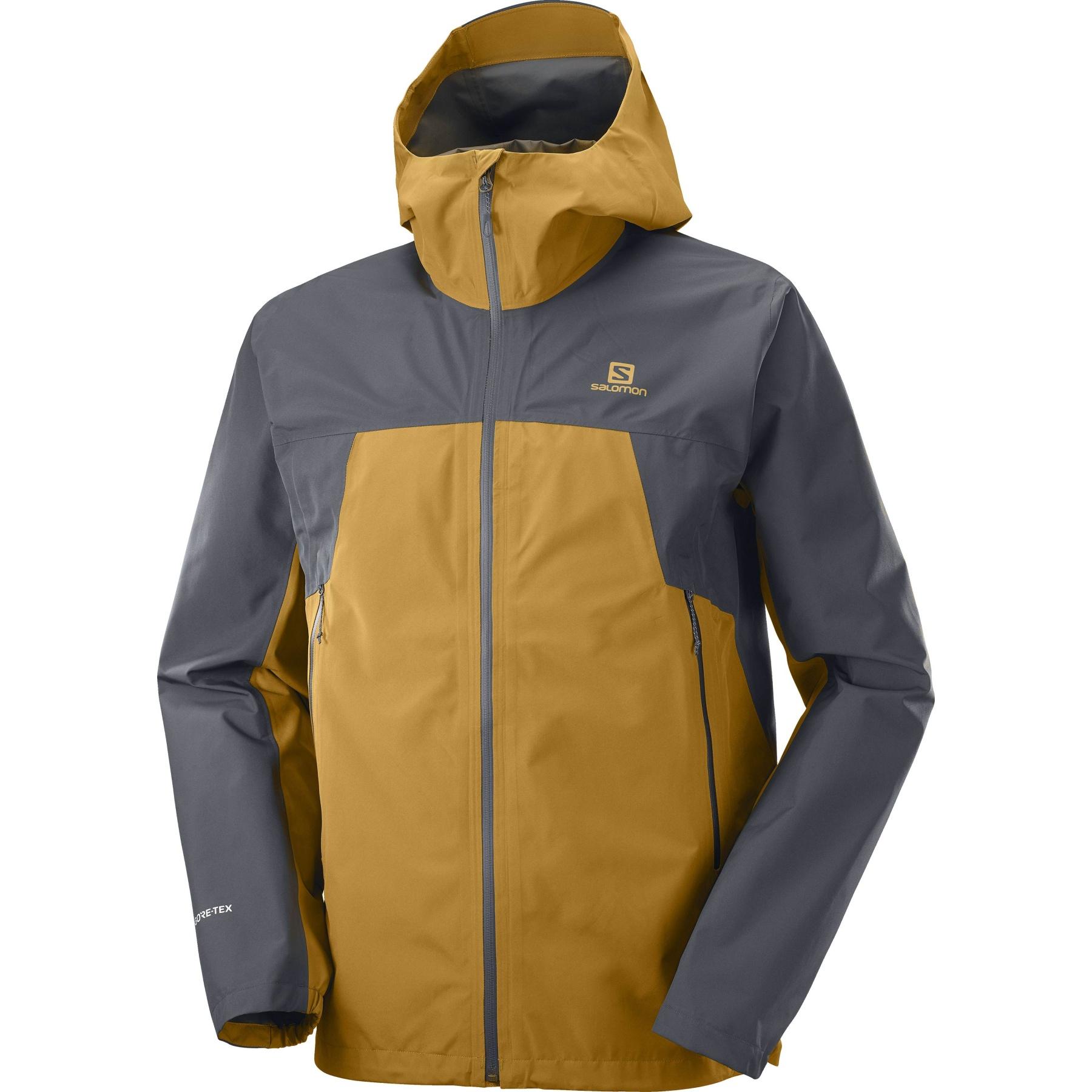 Produktbild von Salomon Outline GTX® 2.5L Jacke M - bronze brown