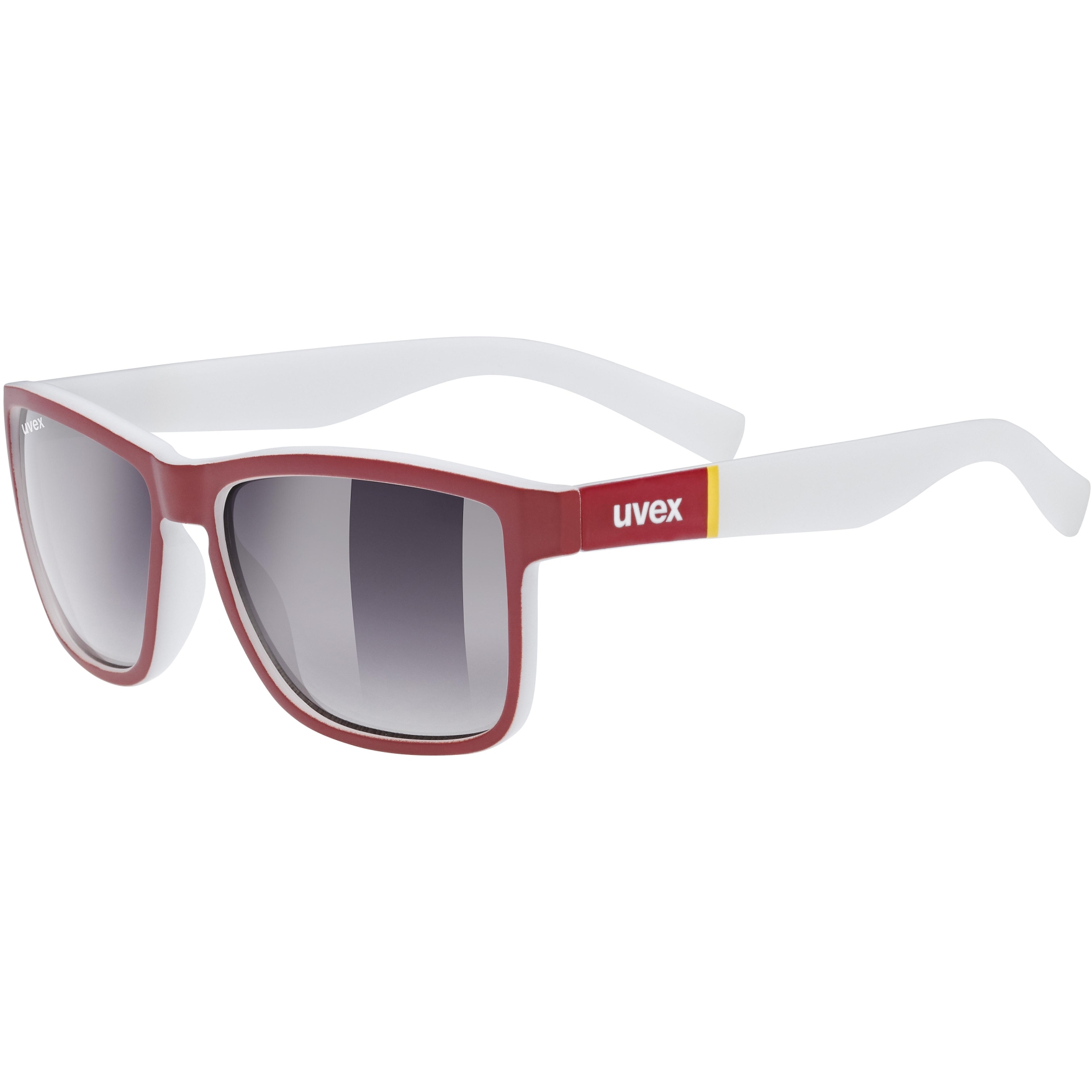 Uvex lgl 39 Glasses - red mat/litemirror silver deg.