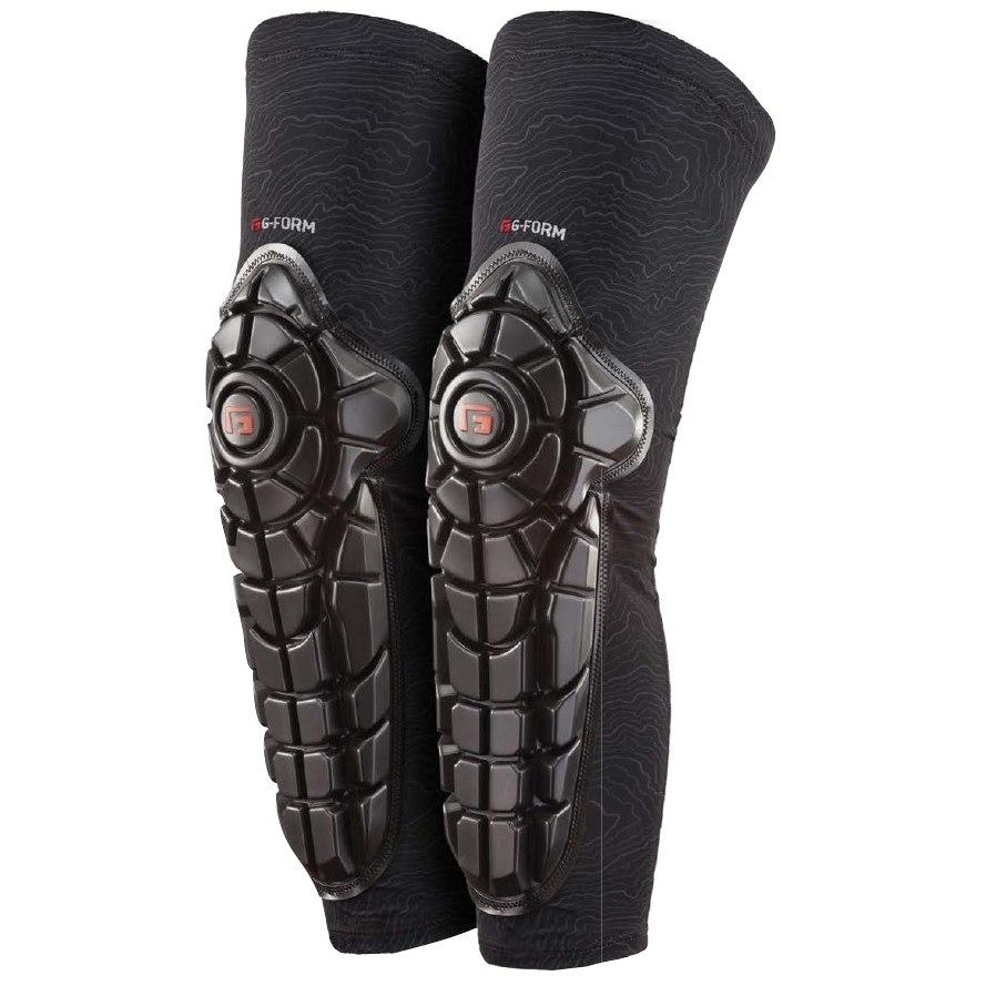 Produktbild von G-Form Elite Knee-Shin Guard Knie-/Schienbeinprotektor - Black Topo