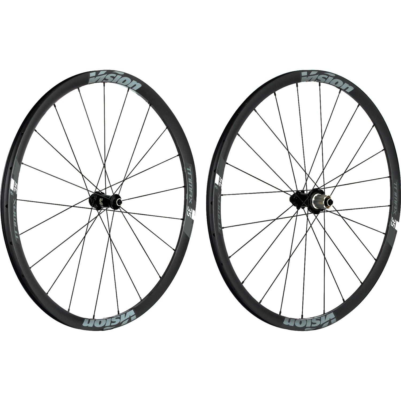 Vision TriMax 35 Disc Laufradsatz - Tubeless Ready - Drahtreifen - Centerlock - Schnellspanner - Shimano HG
