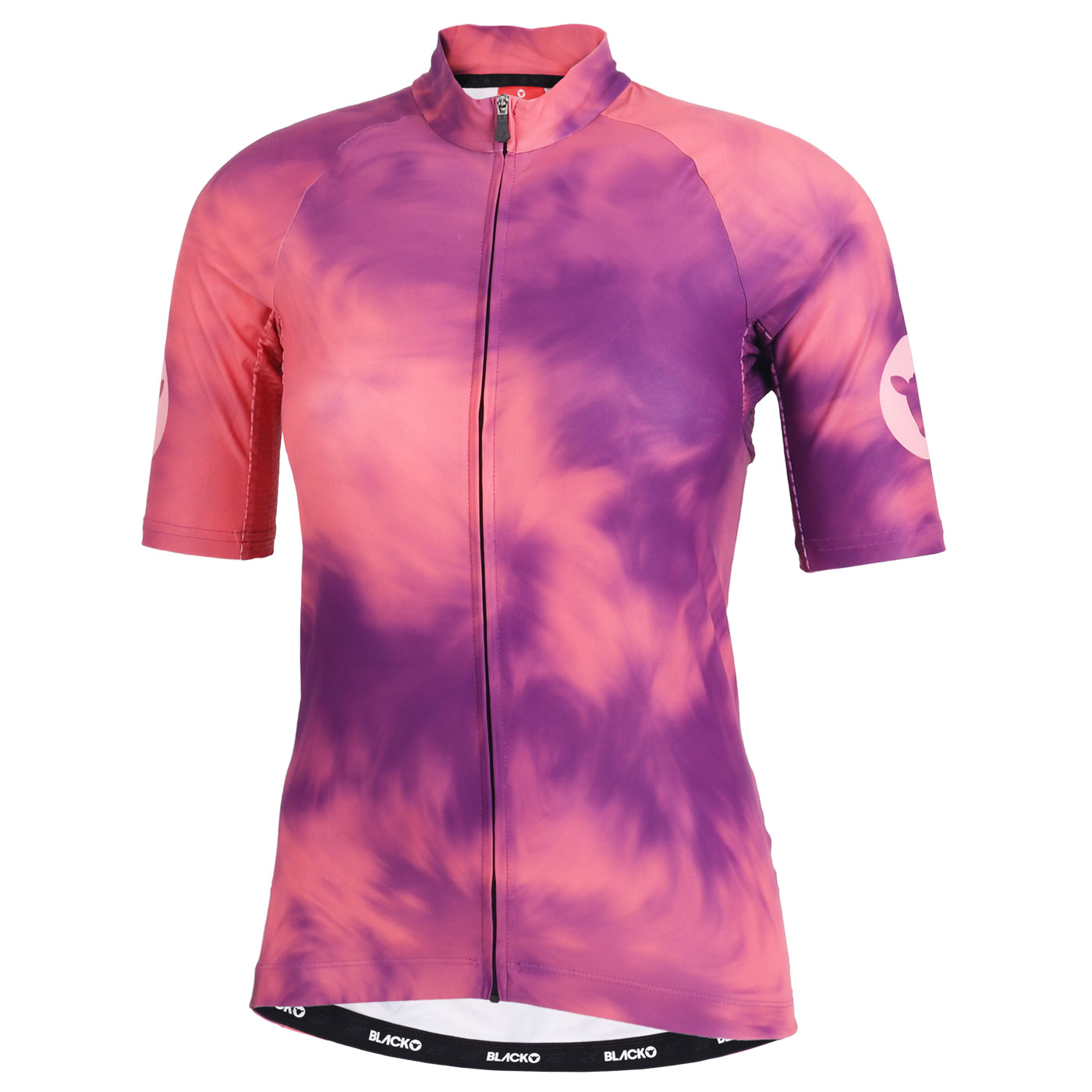 Black Sheep Cycling Essentials TOUR Maillot para Mujer - coral/purple acid