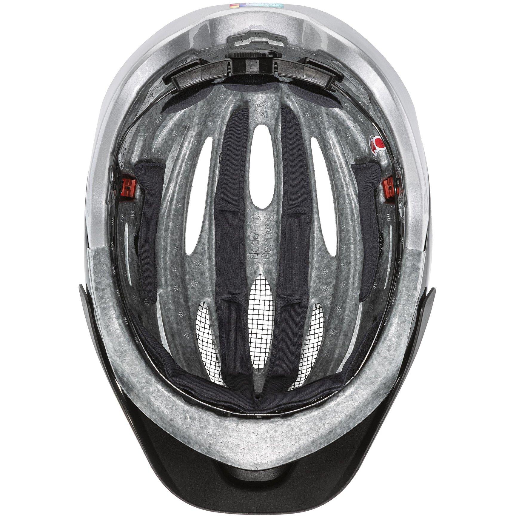 Image of Uvex true Helmet - black-silver