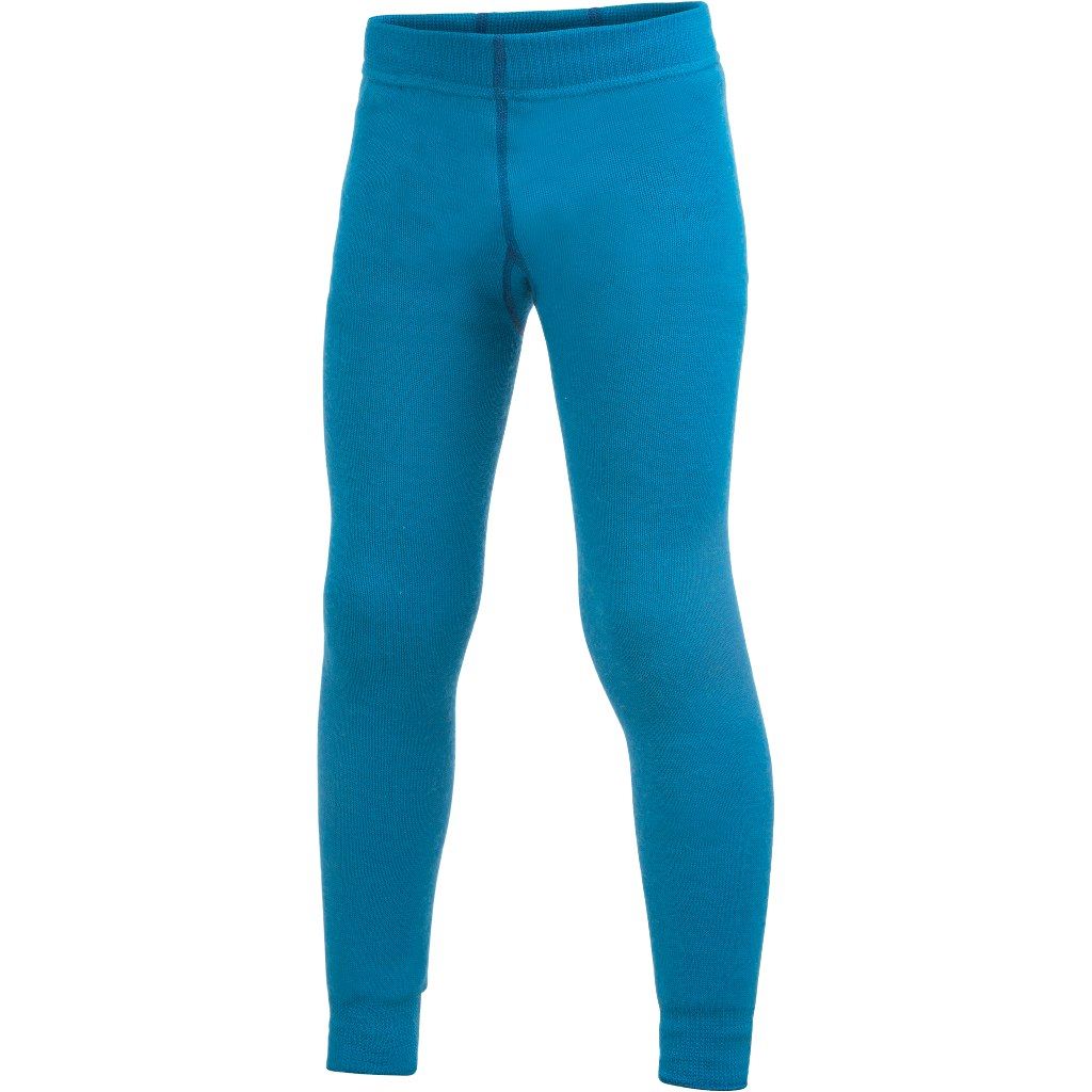 Woolpower Kinder Long John 200 Unterhose - dolphin blue