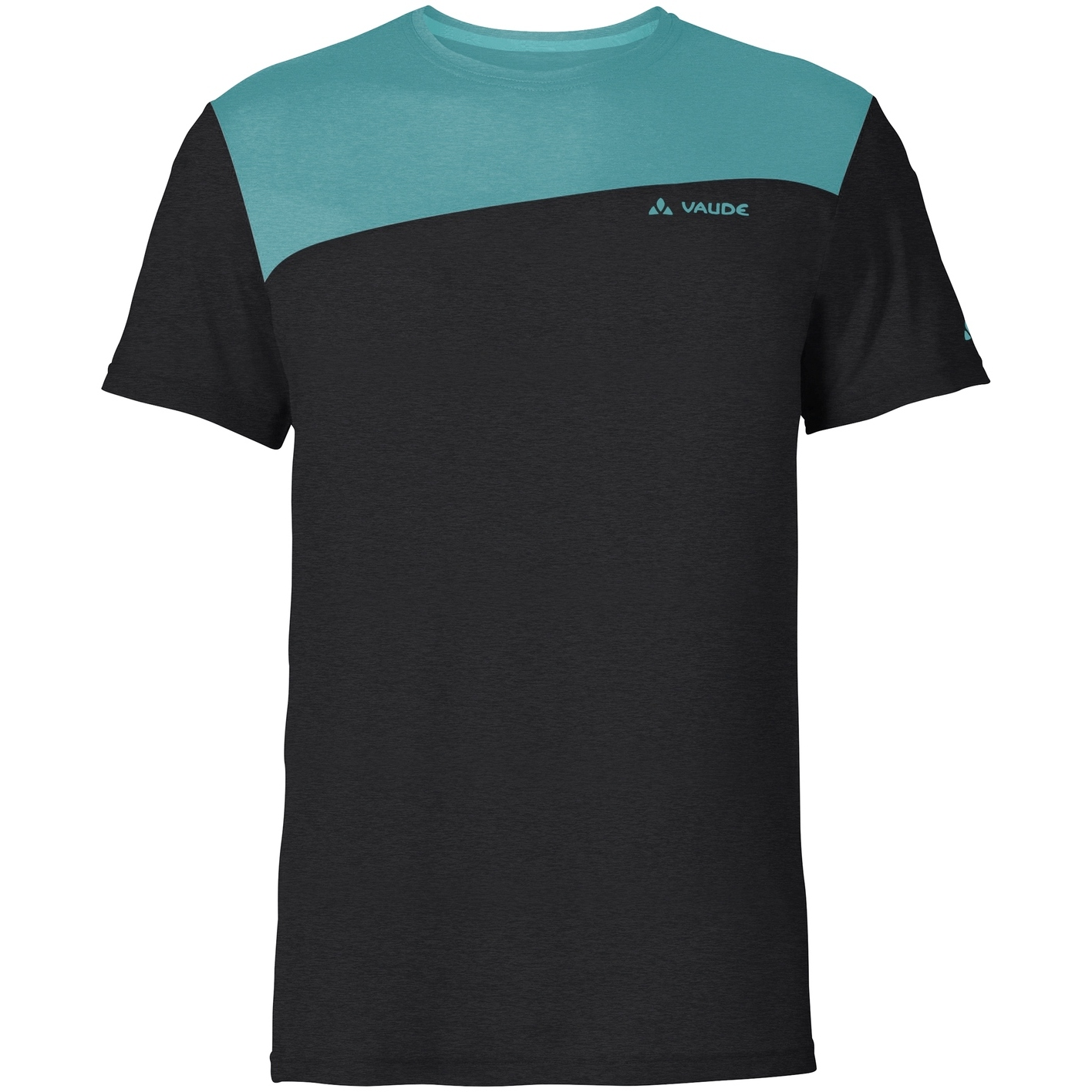 Vaude Sveit T-Shirt - black/lake