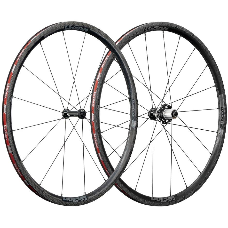 Vision Metron 30 SL Carbon Laufradsatz - Tubeless Ready - Drahtreifen - Shimano HG