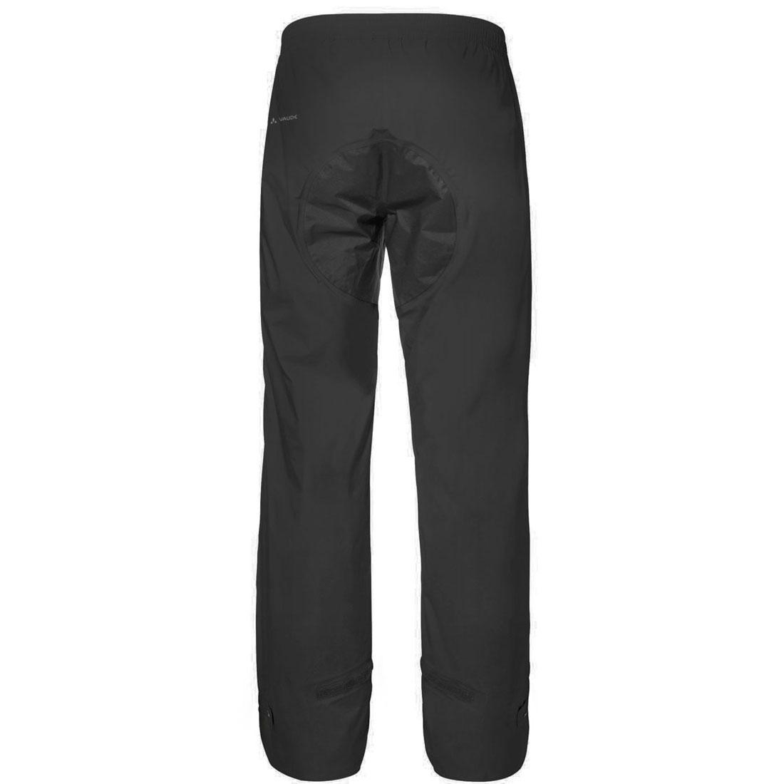 Bild von Vaude Drop II Regenhose - Long - schwarz uni