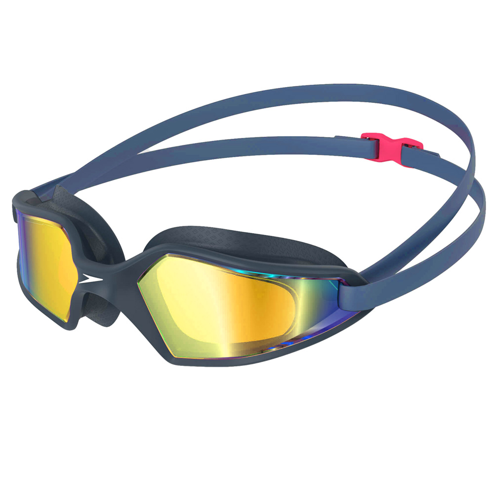 Speedo Hydropulse Mirror Navy/Oxid Grey/Blue Swimming Goggle