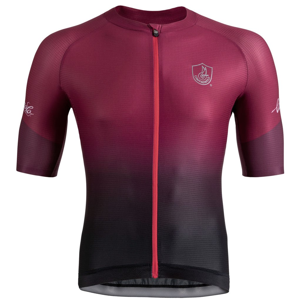 Campagnolo Platino Jersey - bordeaux red/black