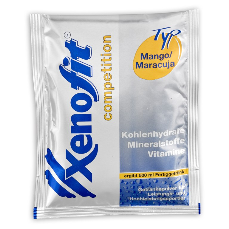 Image of Xenofit Competition Mango/Passion Fruit - Isotonic Carbohydrate Drink - 5x42g