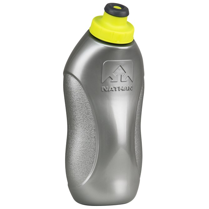 Nathan Sports SpeedDraw Flask Handheld 535ml - Silver