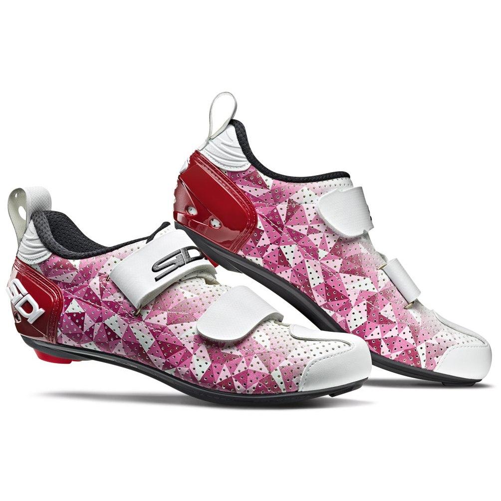 Produktbild von Sidi T5 Air Carbon Composite Woman Triathlonschuh - pink/red/white