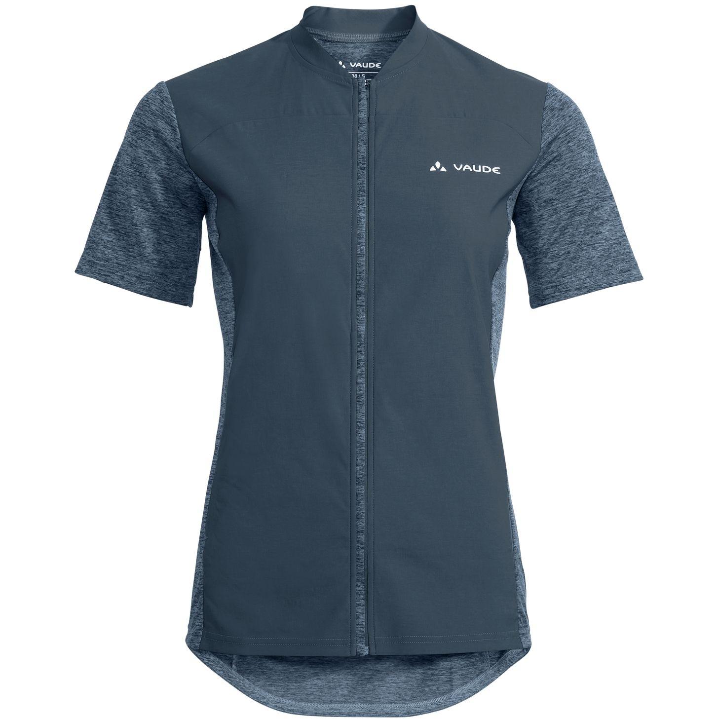 Vaude Qimsa Wind Damen T-Shirt - steelblue