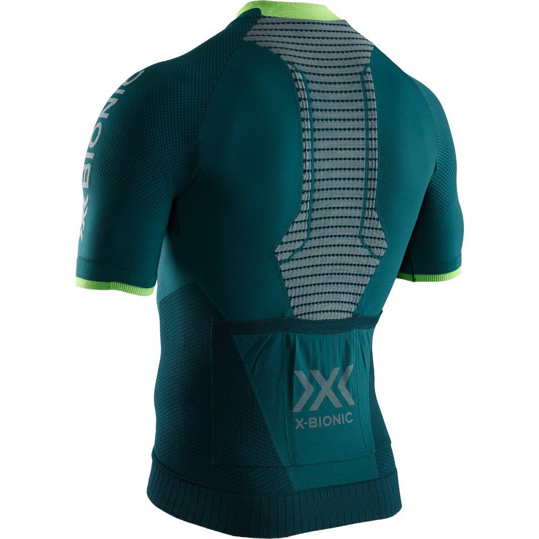 Bild von X-Bionic Invent 4.0 Bike Race Zip Kurzarmtrikot für Herren - pine green/amazonas green