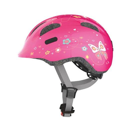 Image of ABUS Smiley 2.0 Kids Helmet - pink butterfly
