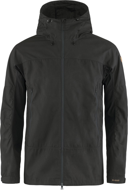Fjällräven Abisko Lite Trekking Jacke - dark grey-black