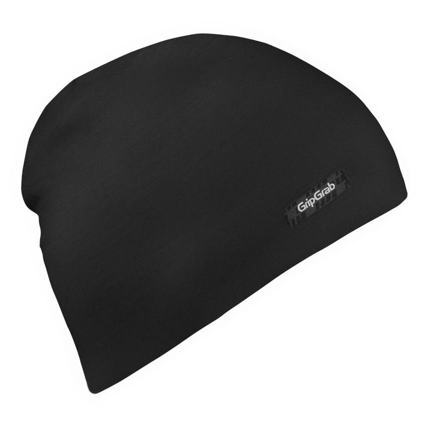 GripGrab Merino Polyfibre Lightweight Beanie - Black