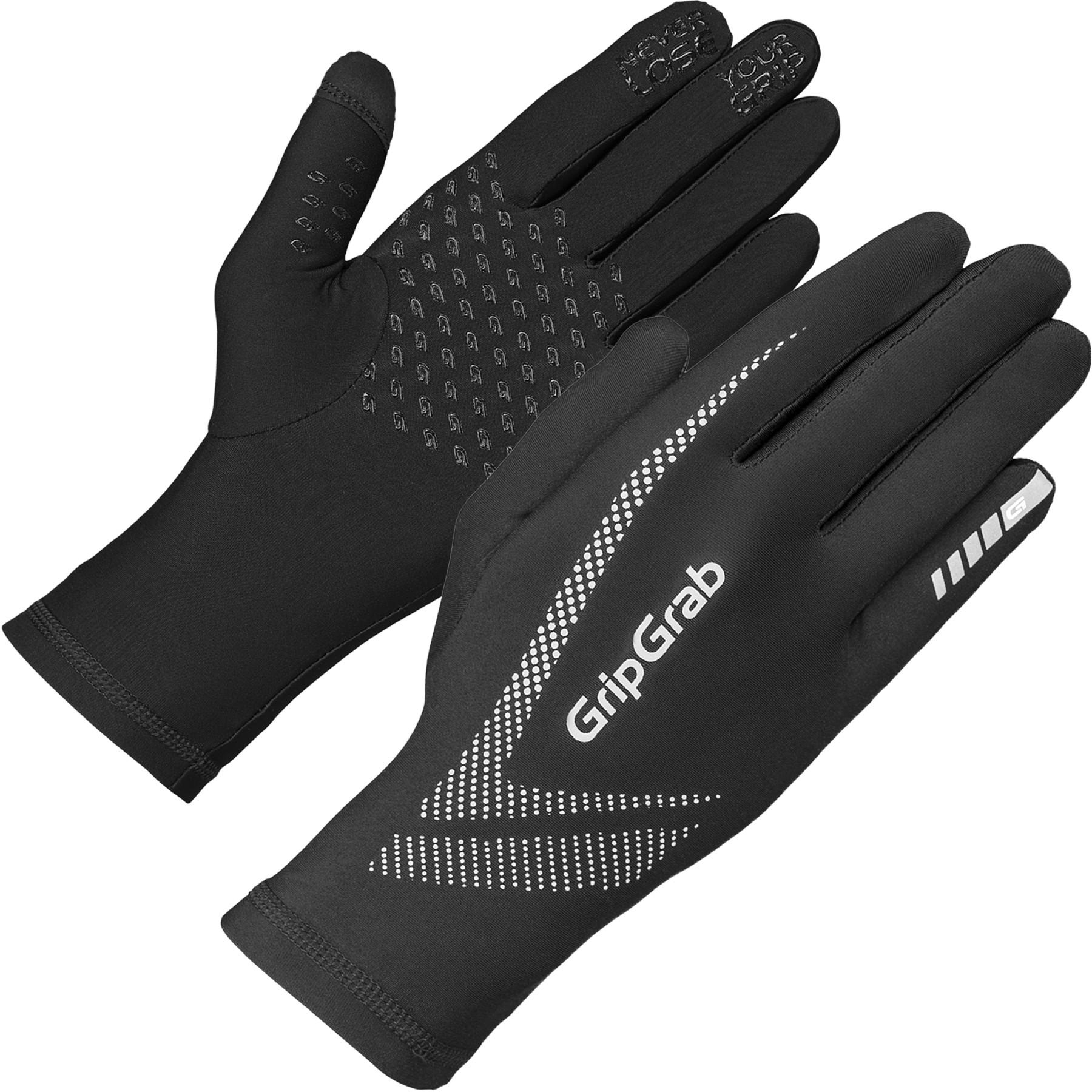 Foto de GripGrab Running UltraLight Touchscreen Guantes de invierno - Black