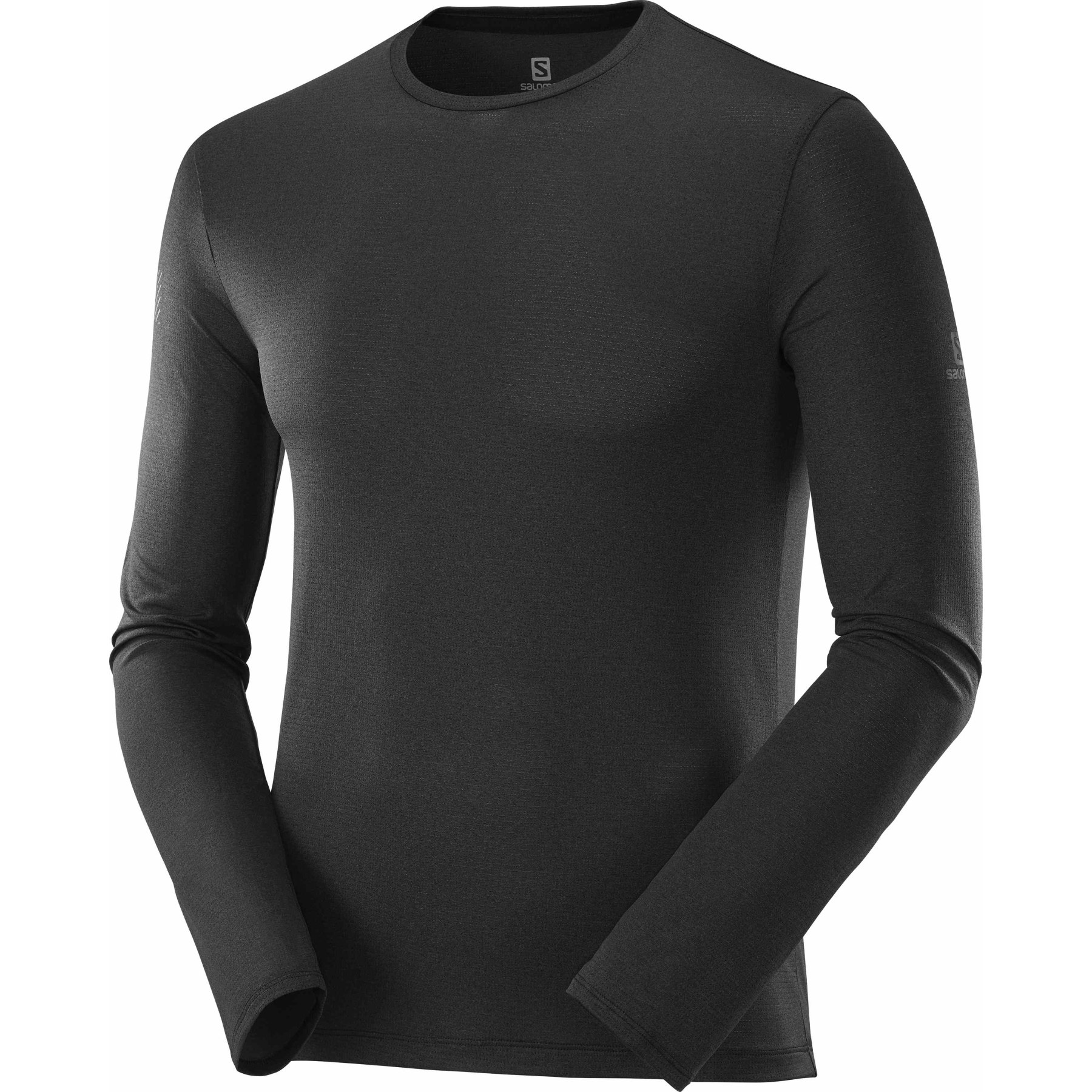 Foto de Salomon Agile LS Camisa de manga larga - negro