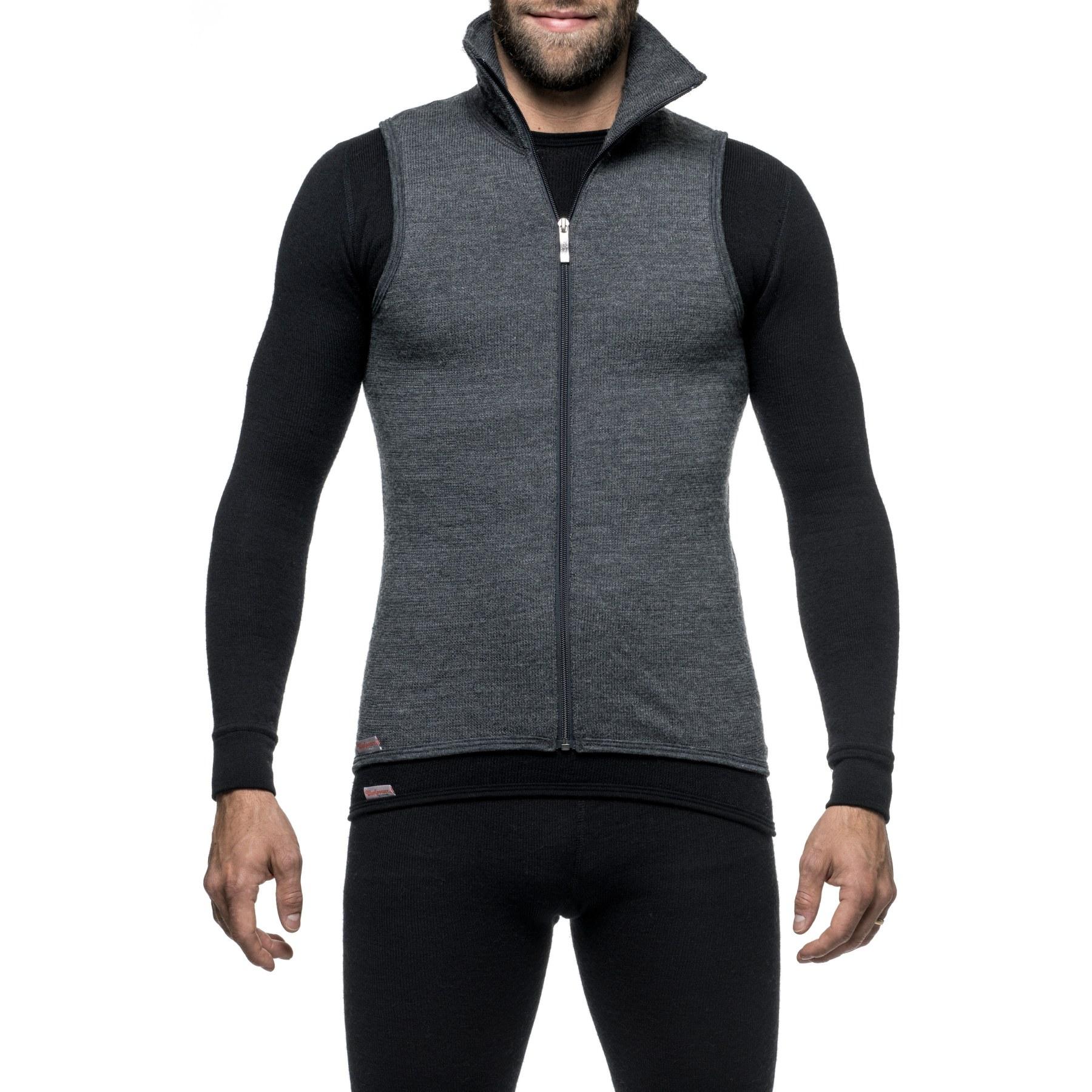 Image of Woolpower Vest 400 - grey