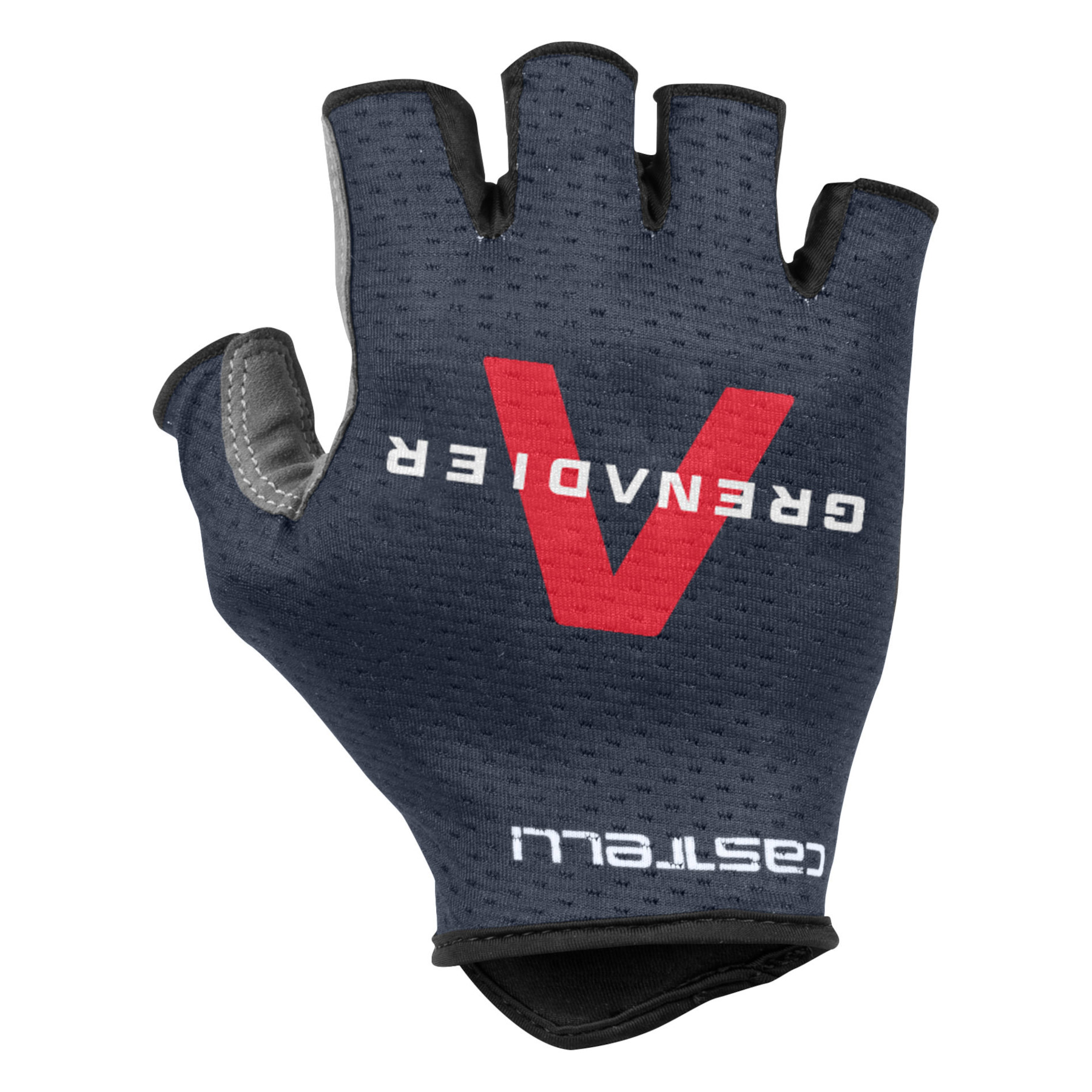 Castelli Team Ineos Grenadiers Track Mitts Short Finger Gloves - savile blue 414