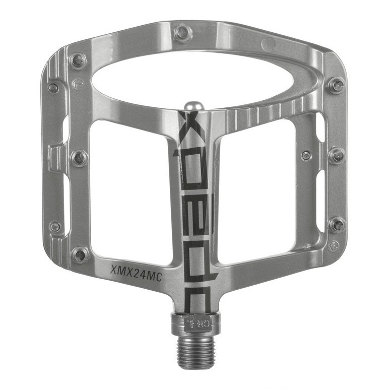 Xpedo Spry Flat Pedal - silber
