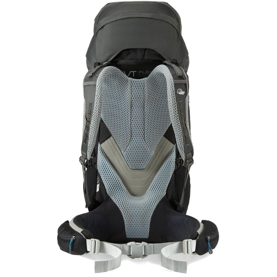 Image of Lowe Alpine Cerro Torre 80:100 Large Backpack FBQ-02-L - Black/Greyhound