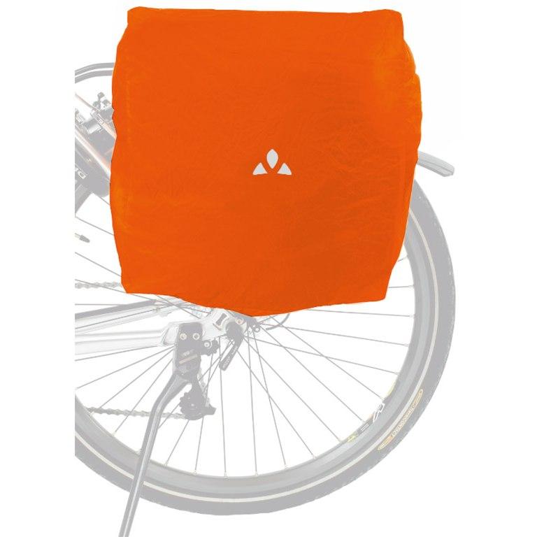 Vaude Raincover for Bike Bags - orange
