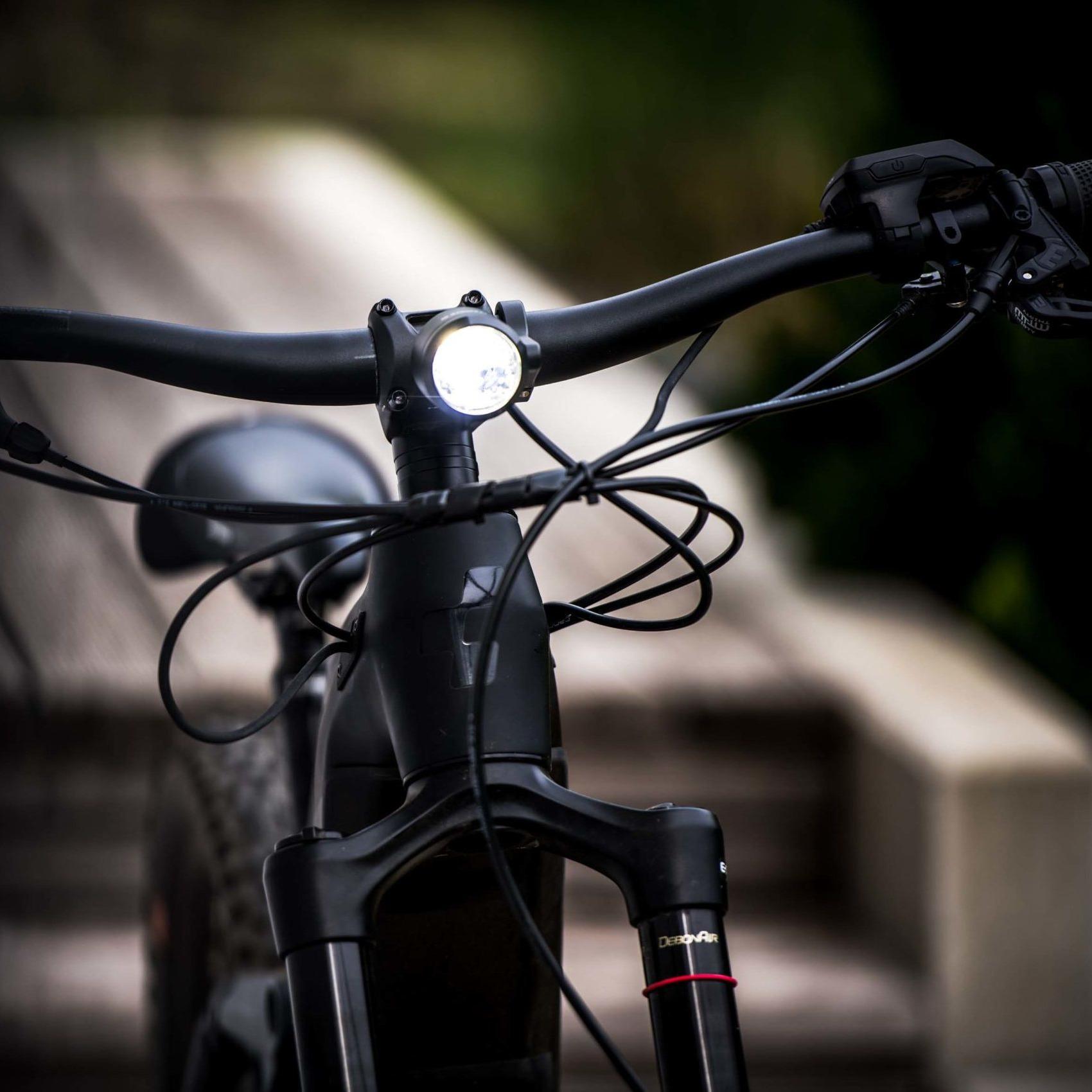 Image of Litemove SE-110 LED Front Light for E-Bikes - HKSE110D - with reflector