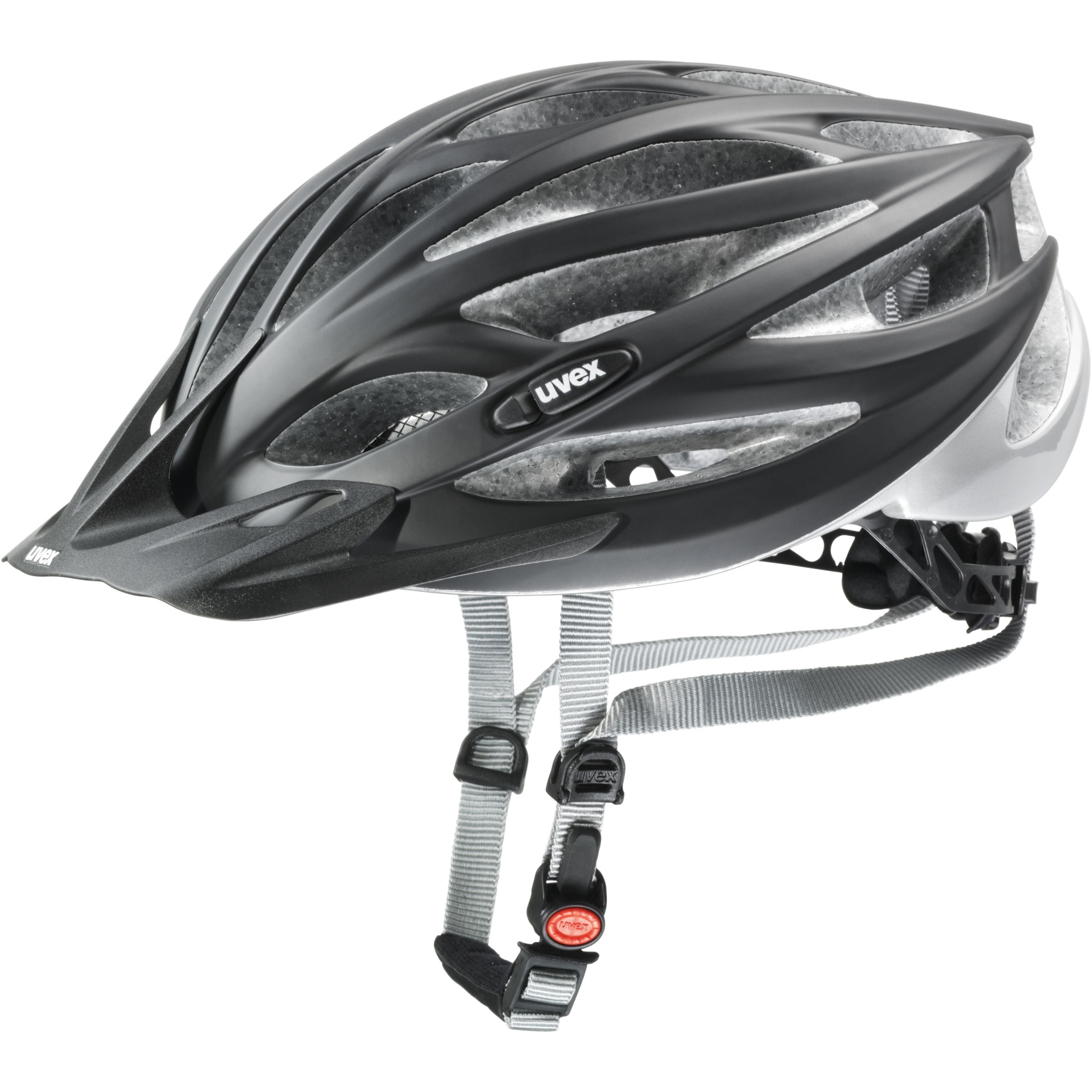 Image of Uvex Oversize Helmet - black mat-silver