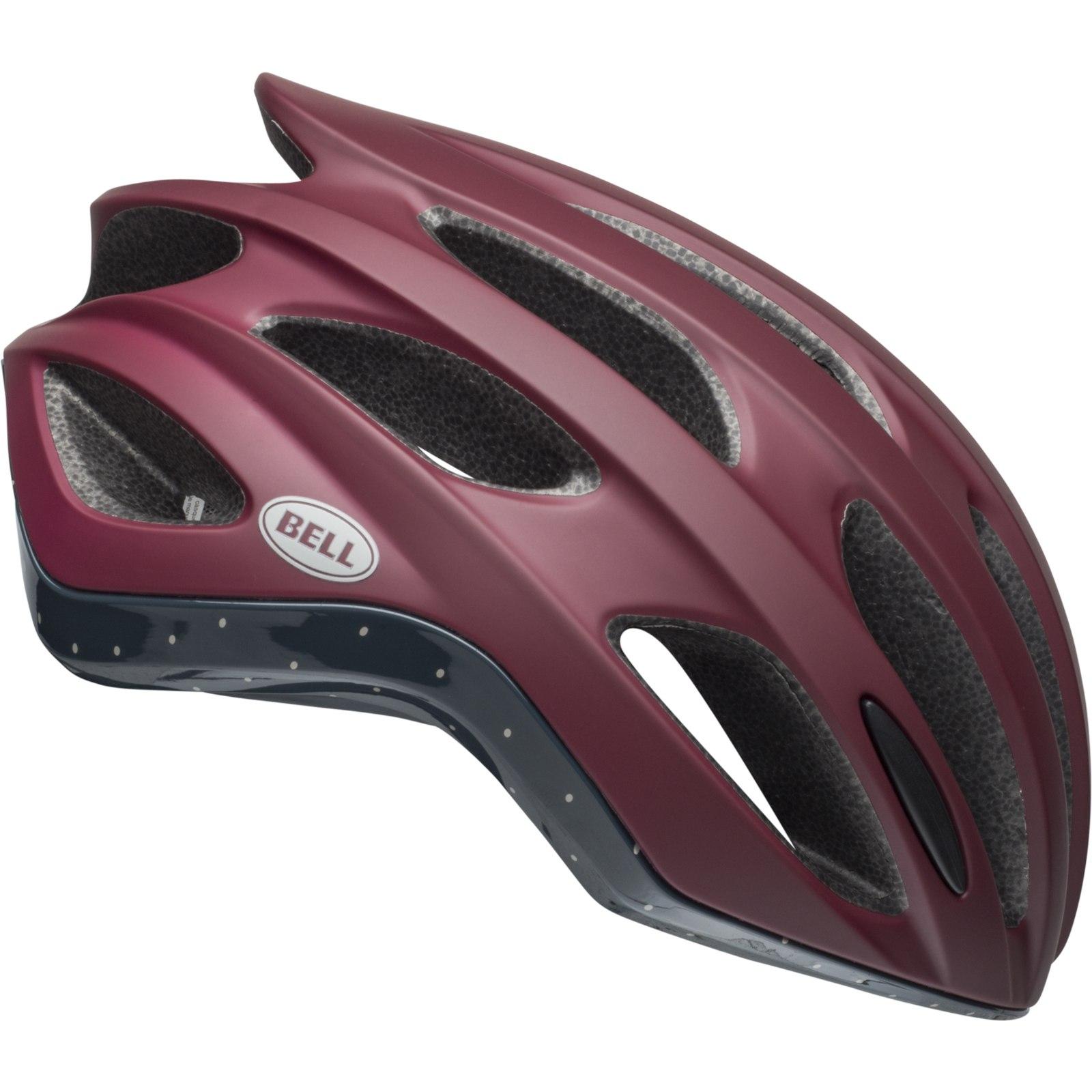 Bell Formula Helmet - virago matte/gloss maroon/slate/sand