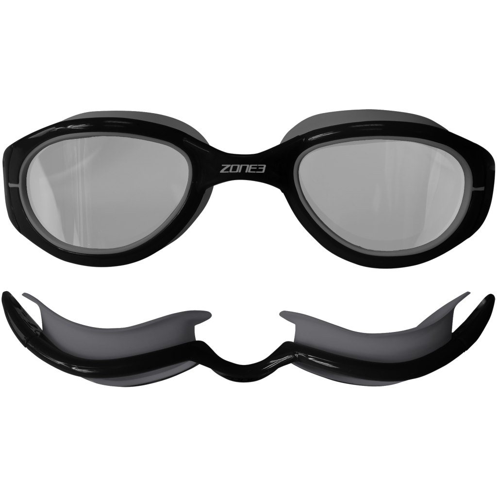 Bild von Zone3 Attack Goggles - Photochromatic Schwimmbrille - black/grey