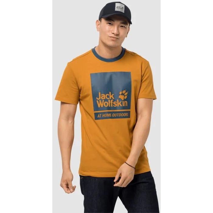 Bild von Jack Wolfskin 365 Thunder T-Shirt - amber