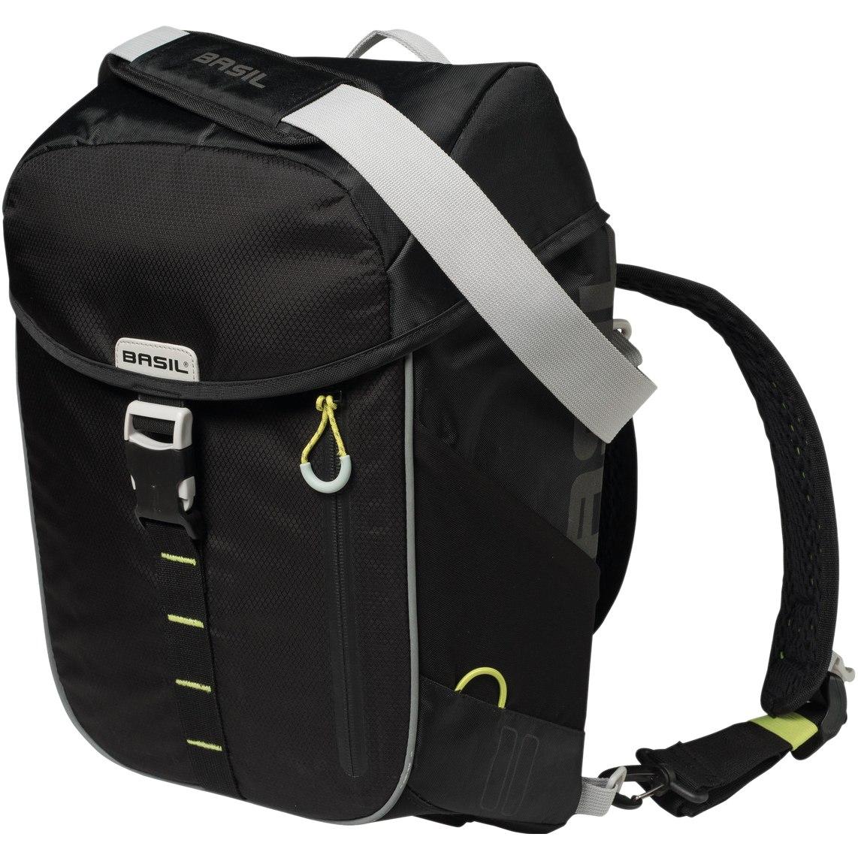 Basil Miles Daypack Bike Bag - black