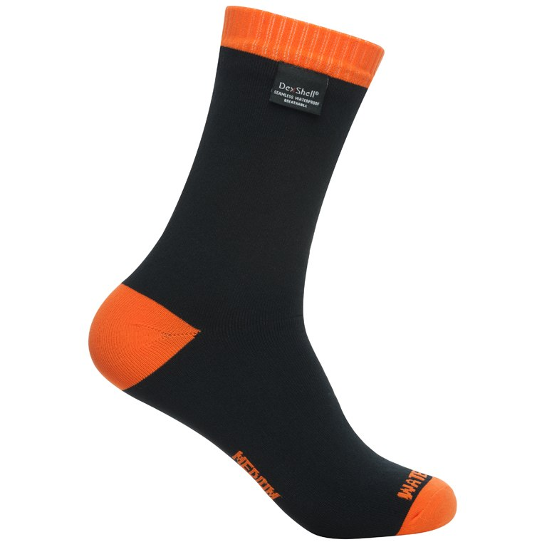 DexShell Waterproof Thermlite Socks - tangelo red