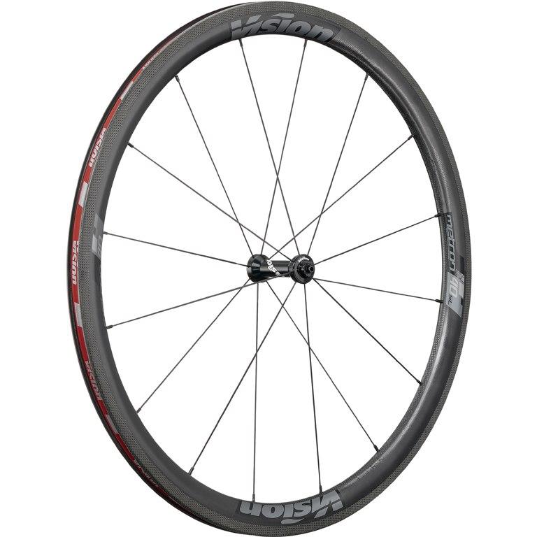 Bild von Vision Metron 40 SL Carbon Laufradsatz - Tubeless Ready - Drahtreifen - Shimano HG