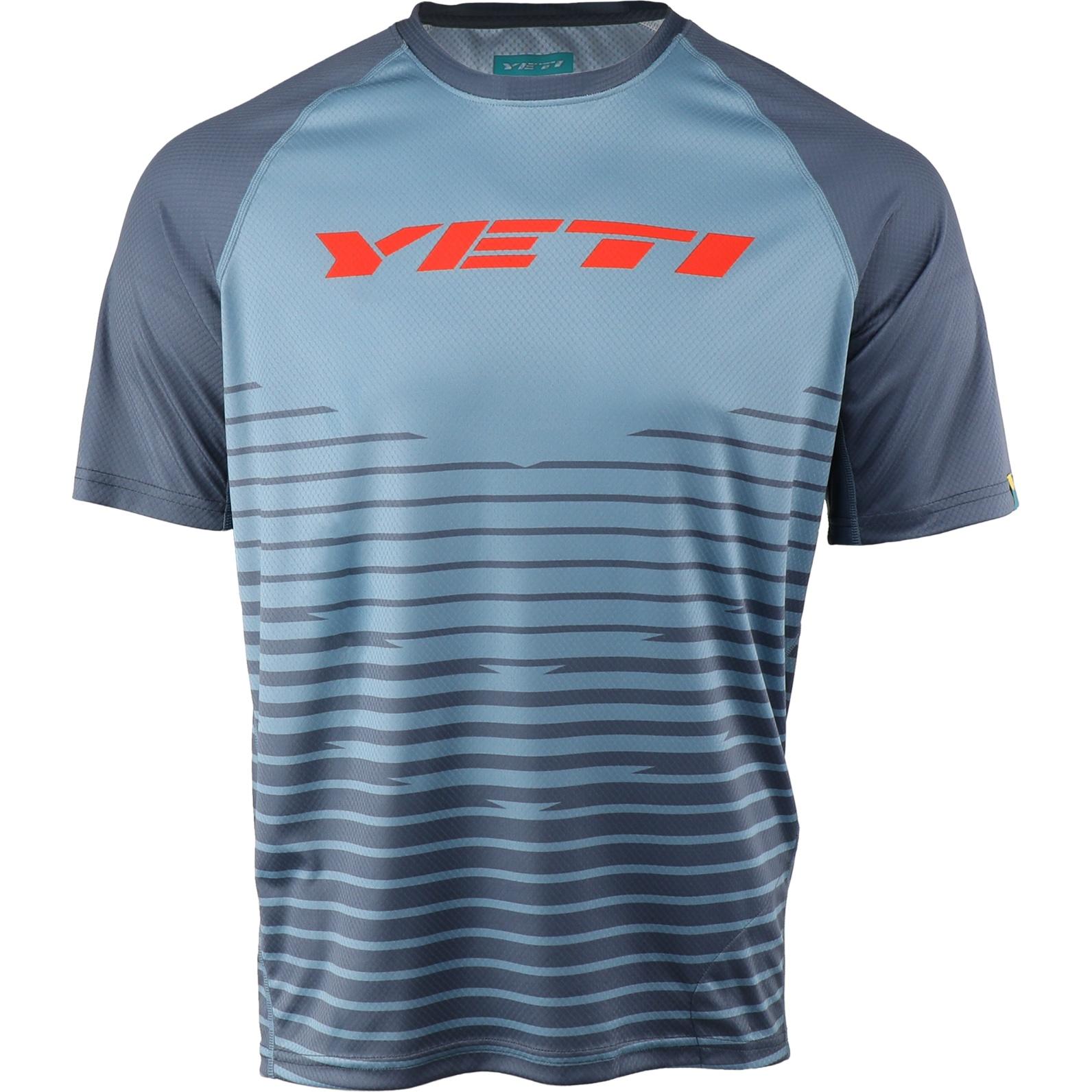 Yeti Cycles Longhorn Short Sleeve Jersey - Slate