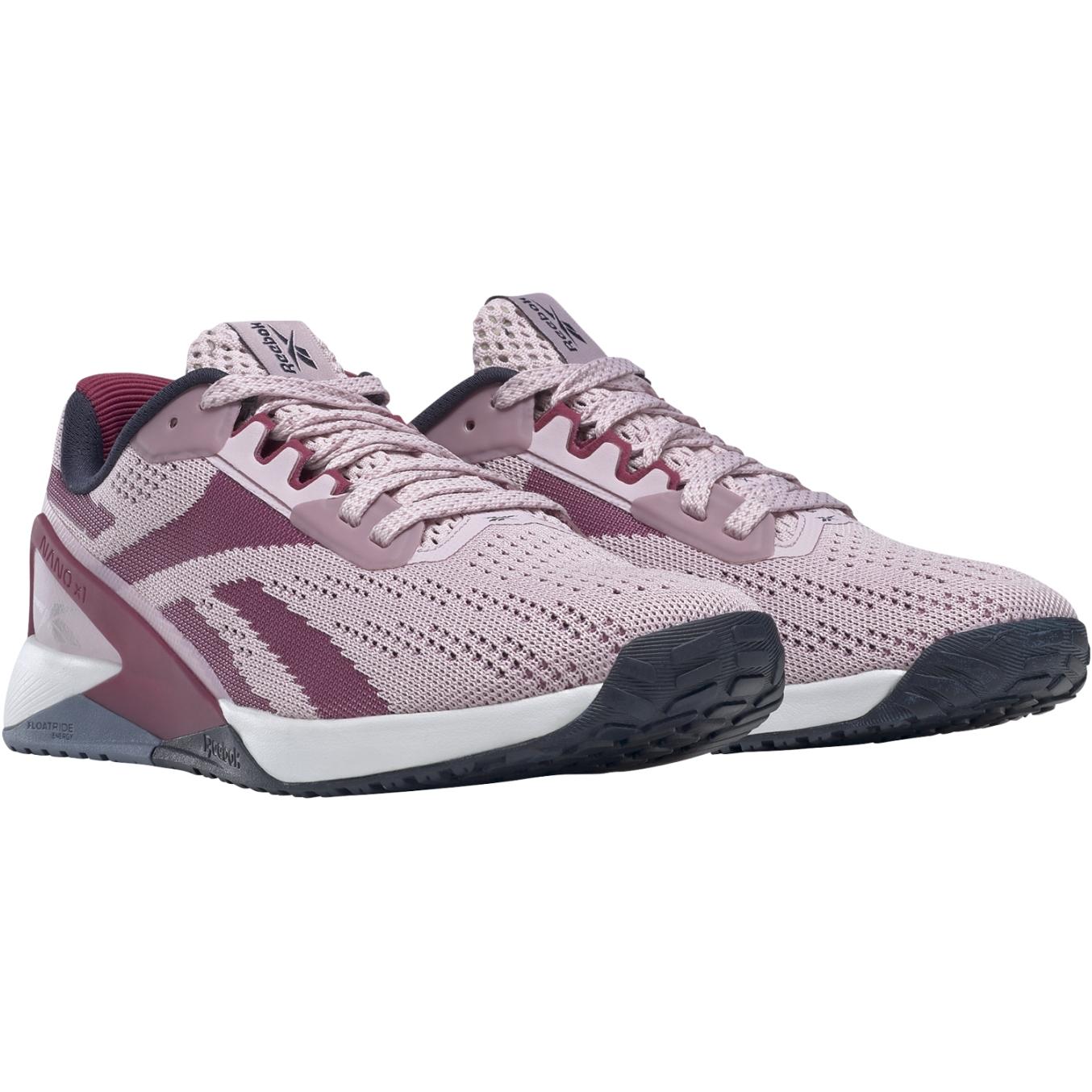 Reebok Nano X1 Women's Shoes - frost berry/punch berry/vector navy